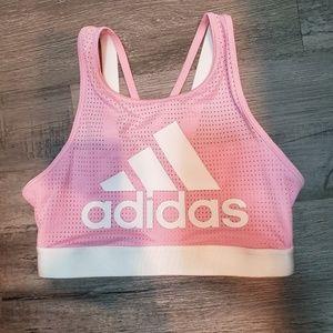NWT Adidas Halter Logo 2.0 Sports Bra